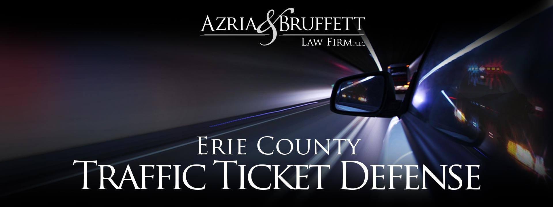 Buffalo New York Speeding Ticket Attorneys